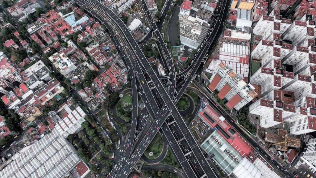 San Antonio, Mexico City. Photo taken by Santiago Arau