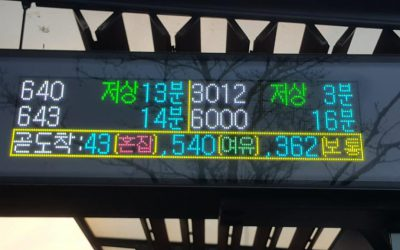 Case study: Displaying real-time bus occupancy levels in Seoul, South Korea