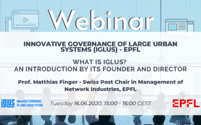 Webinar – IGLUS Way