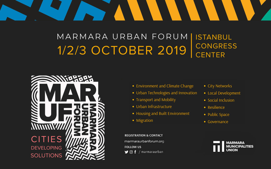 Join Us at Marmara Urban Forum!