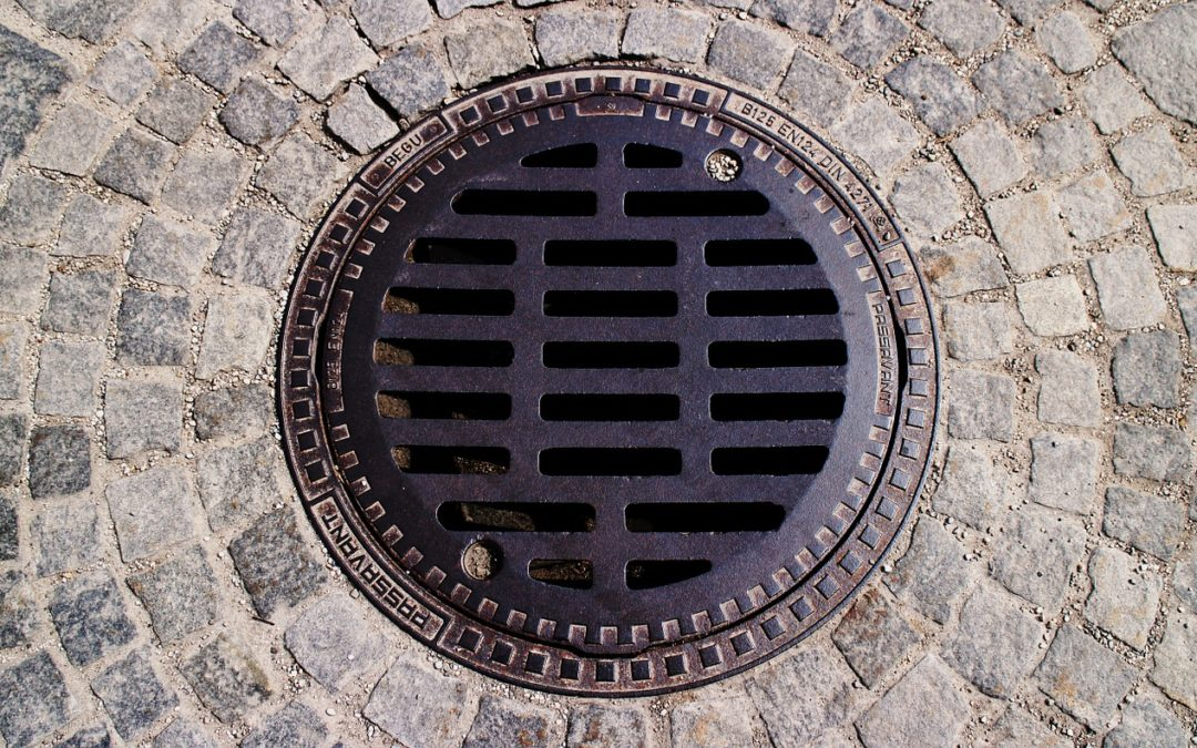 Is there open sewage in Germany?